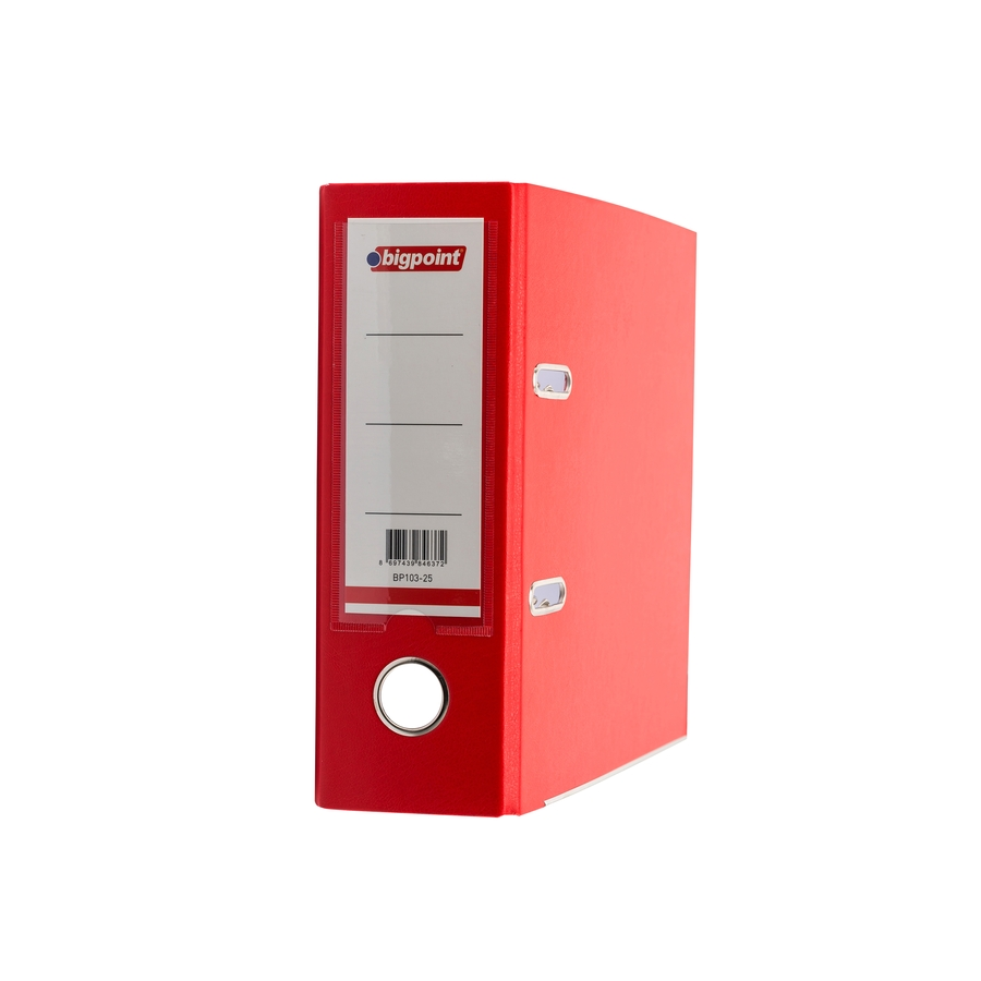 Lever Arch File A5 Wide Red