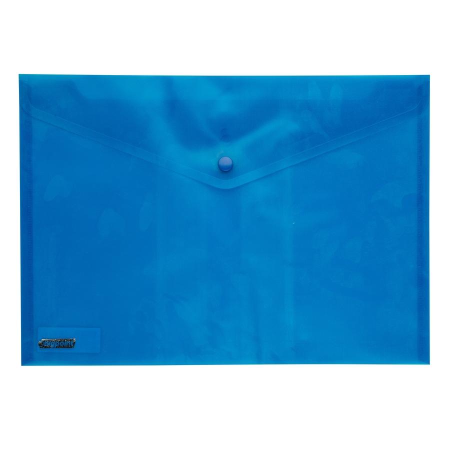 Bigpoint Çıtçıtlı Dosya A4 Mavi BP230-35