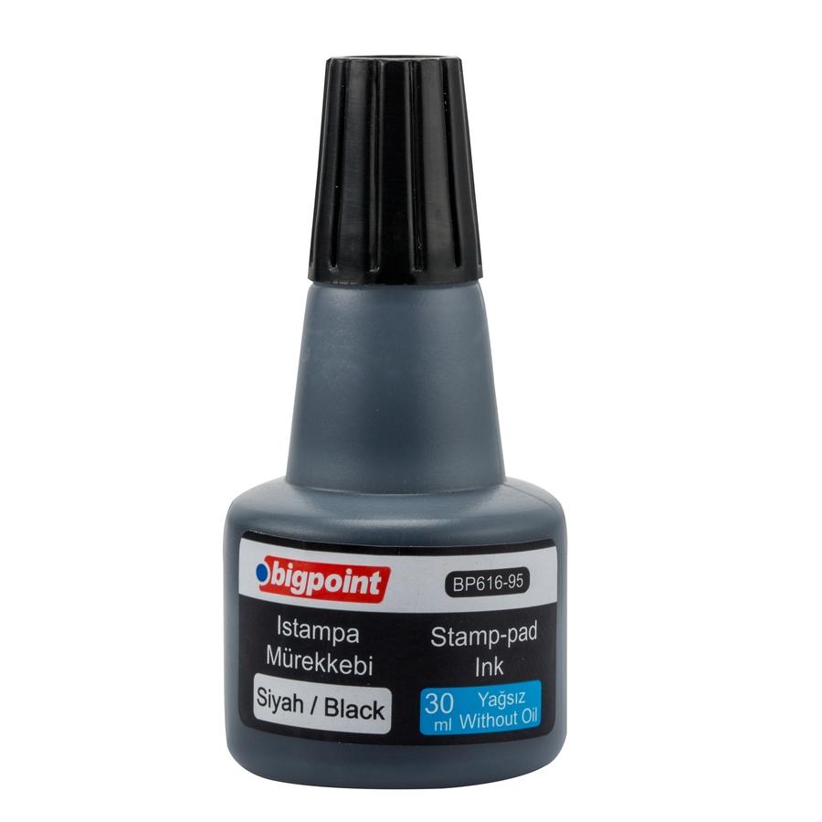 Bigpoint Istampa Mürekkebi 30 ml Siyah BP616-95