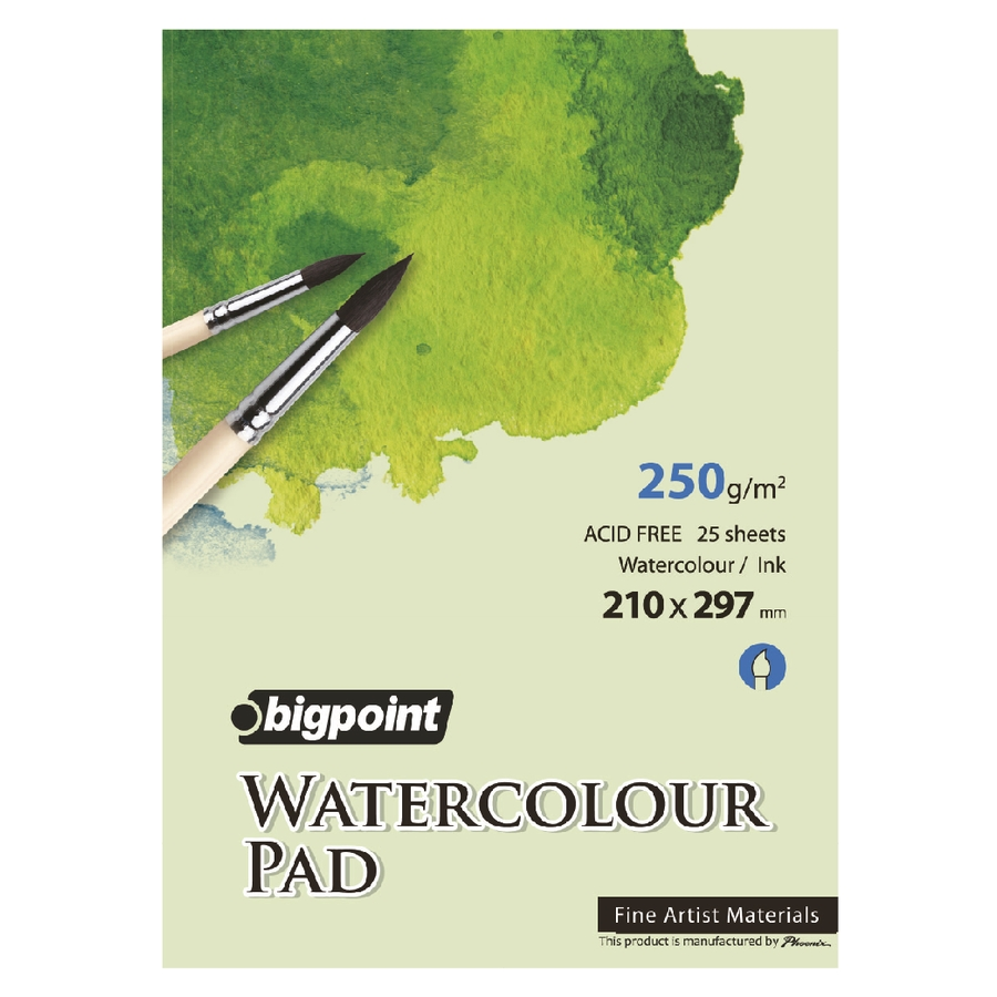 Water Colour Pad 250Gr 25 Sheets A4