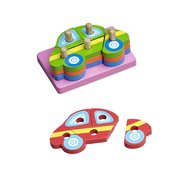 Hongji Wooden Puzzle Car