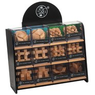 Mi-Toys 3D Wooden Puzzle 6 Pcs Assorti (12 Pcs / Stand)