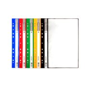 11 Holes Display Book 10 Sheets x 5 Assorted Colours