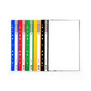 11 Holes Display Book 20 Sheets x 5 Assorted Colours