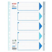 PP 11 Holes Subject Dividers 5-Tab (1-5)