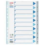 PP 11 Holes Subject Dividers 10-Tab (1-10)
