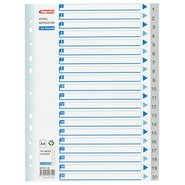 PP 11 Holes Subject Dividers 20-Tab (1-20)