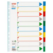 PP 11 Holes Subject Dividers 10-Tab (Colours)