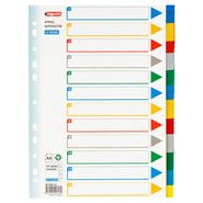 PP 11 Holes Subject Dividers 12-Tab (Colours)