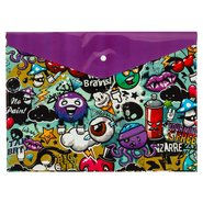 PP Printing Envelope Bag A4 Graffiti