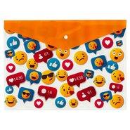 PP Printing Envelope Bag A4 Emoji