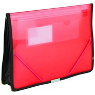 Document Case Multi Function Red