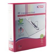 PP+Paperboard D-4 Ring View Binder 7cm Red