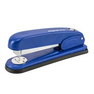 Push Button Metal Stapler 24/6 Blue