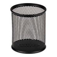 Mesh Pencil Cup Black