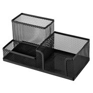 Mesh Stationery Set of 3 Dividers Black