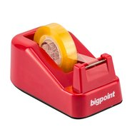 Small Tape Dispenser Red (33mt)