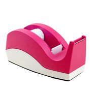 Medium Tape Dispenser Pink-White (33mt)