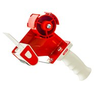 Packing Tape Dispenser Red 50mm