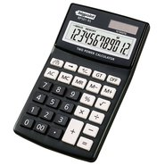 Desktop Electronic Calculator 12 Digits Black