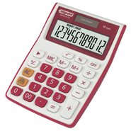 Desktop Electronic Calculator 12 Digits Pink