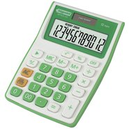 Desktop Electronic Calculator 12 Digits Green
