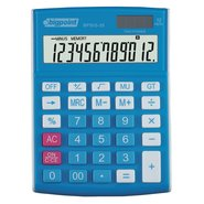 Desktop Electronic Calculator 12 Digits Blue