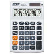 Desktop Electronic Calculator 12 Digits White