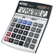 Desktop Electronic Calculator 12 Digits Silver