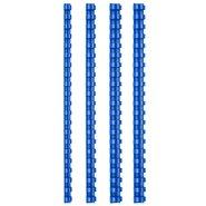 Comb Binding Rings 8mm Blue (100Pcs/Box)