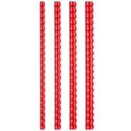 Comb Binding Rings 12mm Red (100Pcs/Box)