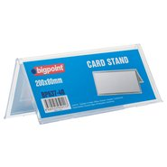 Double Sided Menu Stand 200x80mm