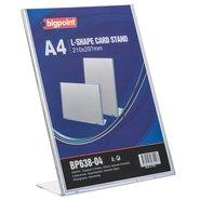 L Shape Card Stand Vertical A4