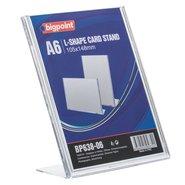 L Shape Card Stand Vertical A6