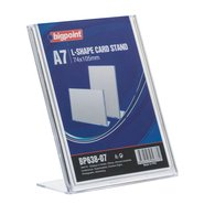 L Shape Card Stand Vertical A7