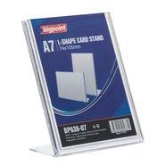 L Shape Card Stand Vertical A7