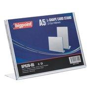 L Shape Card Stand Horizontal A5