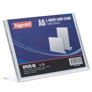 L Shape Card Stand Horizontal A6