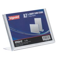 L Shape Card Stand Horizontal A7