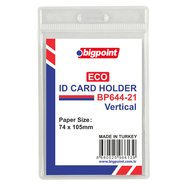 Eco Id Card Holder 74x105mm