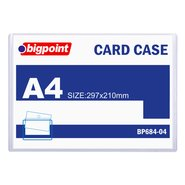 A4 Card Case Clear
