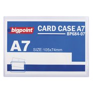 A7 Card Case Clear