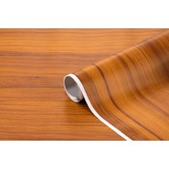 PVC Self Adhesive Roll 2m Wooden No:26
