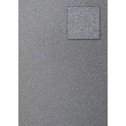 Glitter Cardboard Paper 50x70cm Silver 10 Sheets