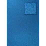 Glitter Cardboard Paper 50x70cm Blue 10 Sheets