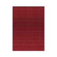Metallic Cardboard 50x70cm Red 10 Sheets