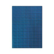 Metallic Cardboard 50x70cm Blue 10 Sheets