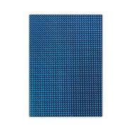 Metallic Cardboard 50x70cm Blue 10 Sheets