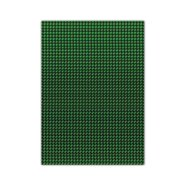 Metallic Cardboard 50x70cm Green 10 Sheets