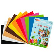 Handwork Paper A4 80 Gsm (Mix 10 Assorted)